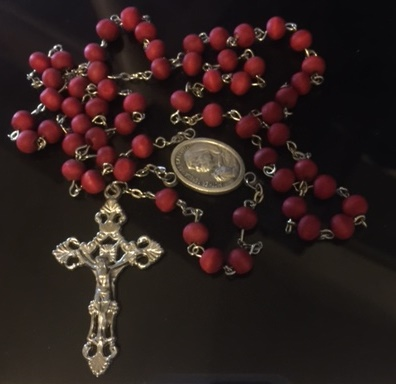 St Mother Teresa Rose Petal Rosary