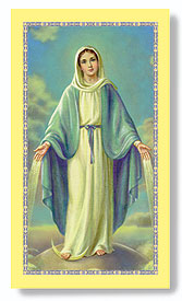 Paper Holy Card, Our Lady of Grace