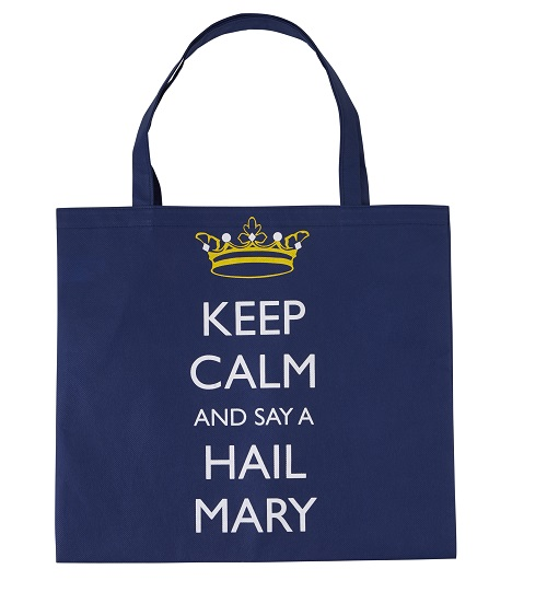 Keep Calm Hail Mary Bag