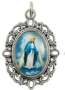 Our Lady of Grace Decorative Medal