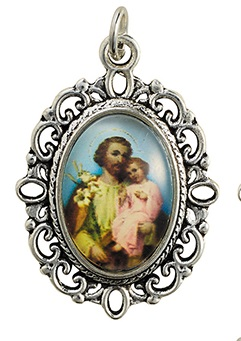 St. Joseph Decorative Color Medal