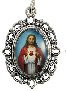 Sacred Heart of Jesus Decorative Medal