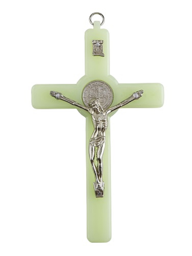 Glow in the dark Benedict Crucifix