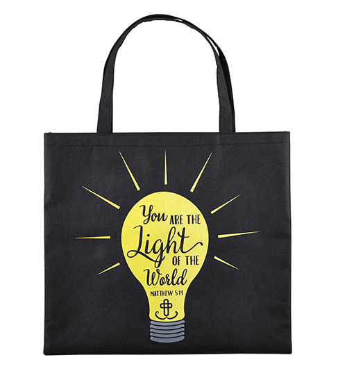 Light of the World Glow-in-the-Dark Tote Bag