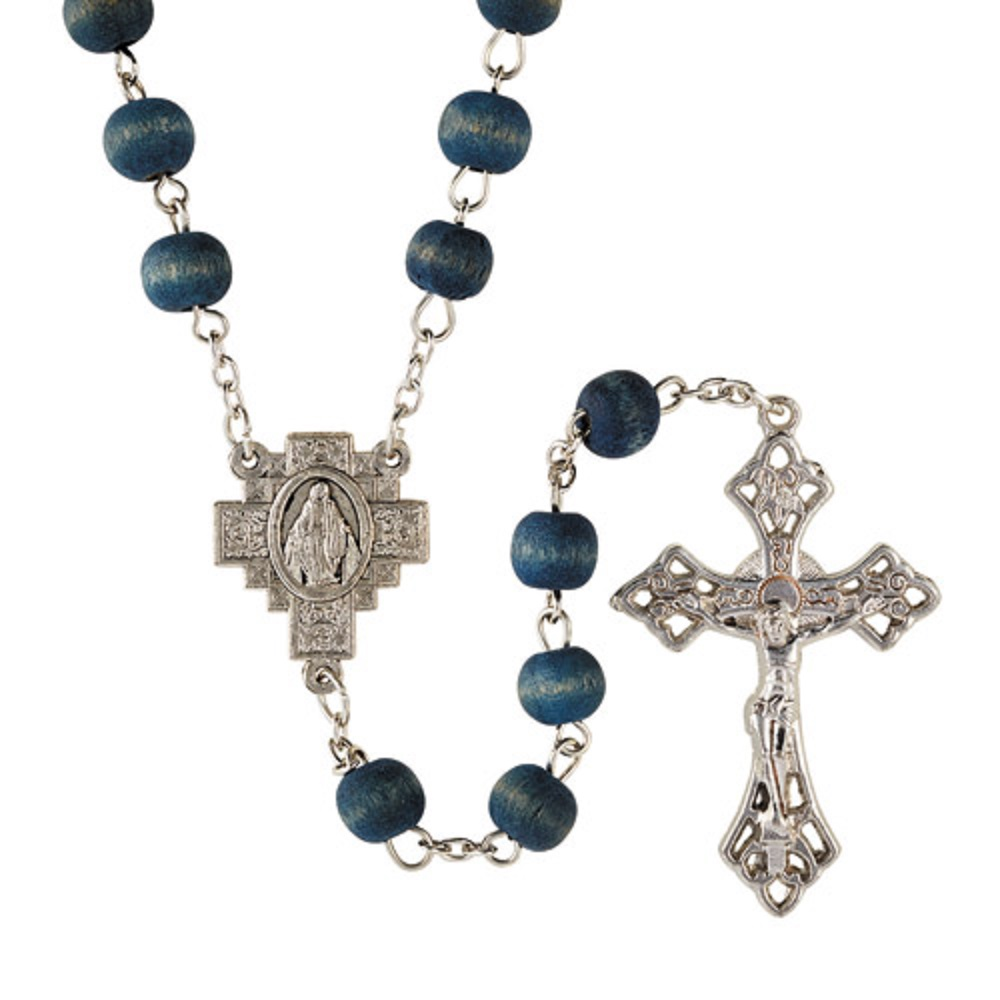 Blue Rose Scented Rosary