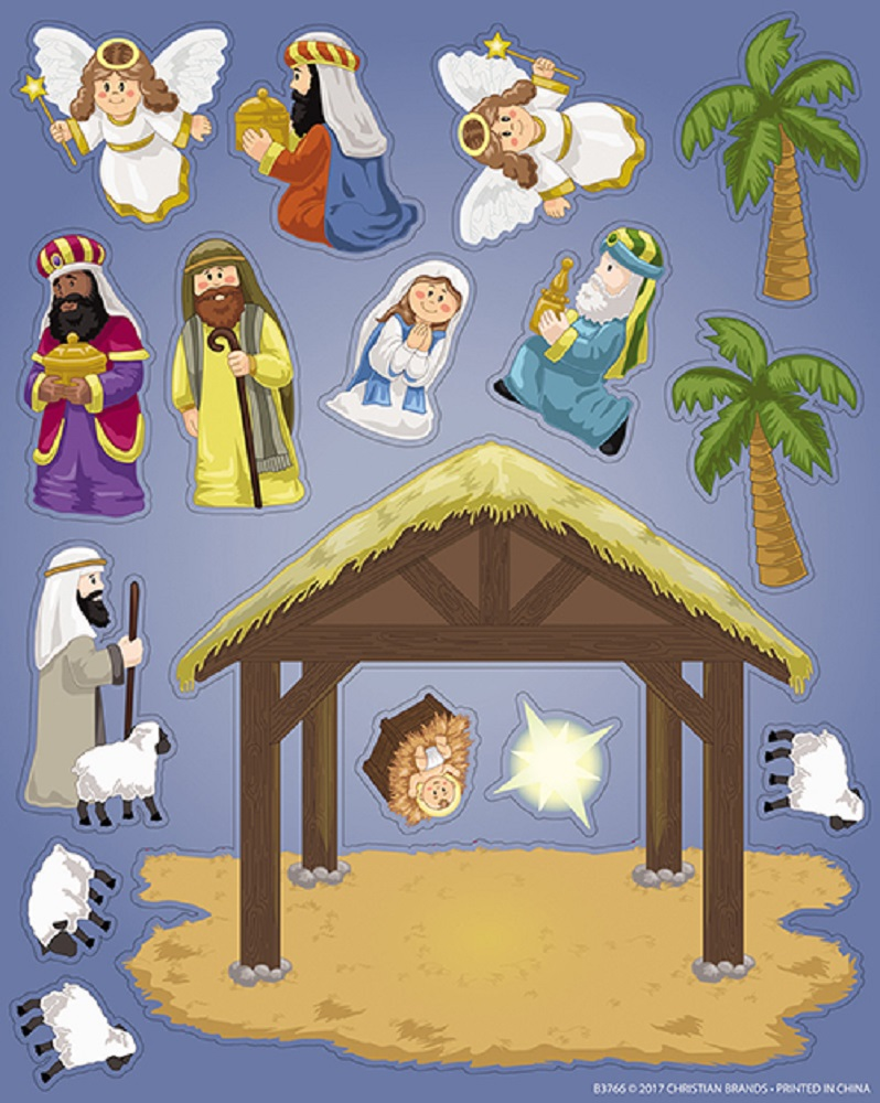 Nativity Sticker Set
