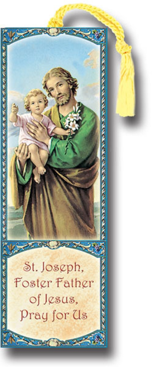 St. Joseph Bookmarks Buy 1 get 1 free - Limit one per order!