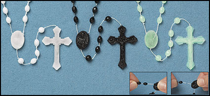 Luminous Plastic rosary buy 1 get 1 free