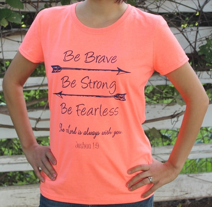 Be Brave T shirt