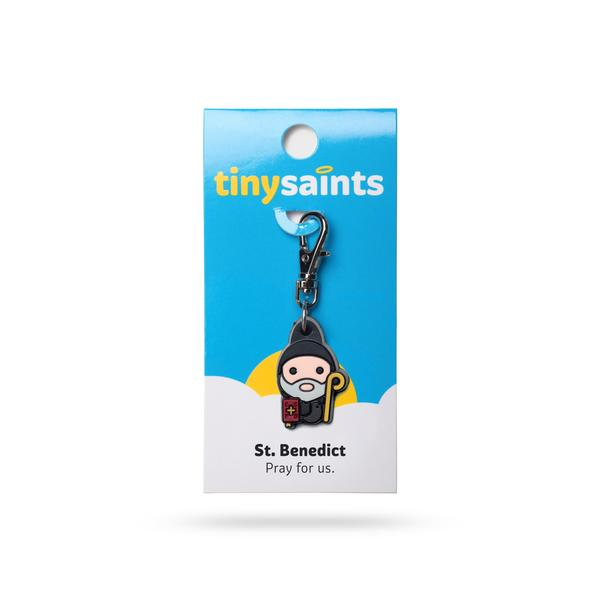 St. Benedict Tiny Saints Charm