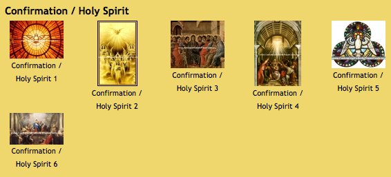 Confirmation Custom Printed holy cards