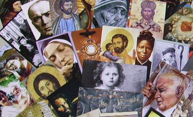 CATHOLIC PRAYER CARD ASSORTMENT OF 75