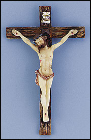 Resin Wall Crucifix