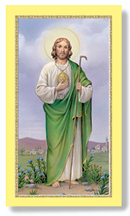 St. Jude Paper Holy Card