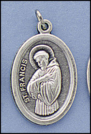Relic medals - St. Francis of Asissi