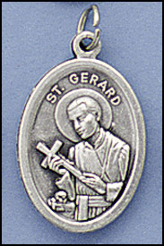 St. Gerard Relic medal