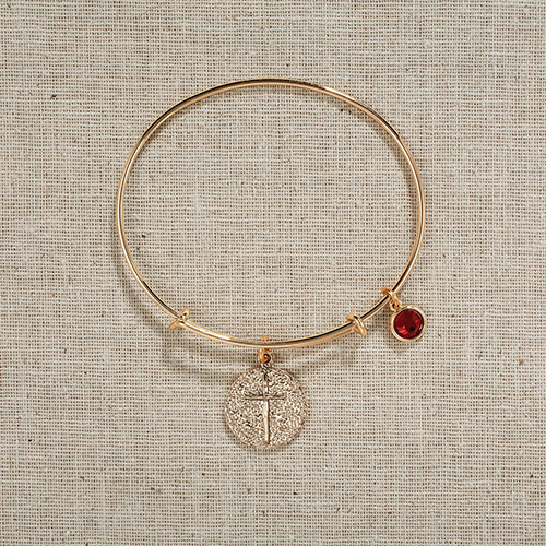 Vintage Cross Bangle in gift bag