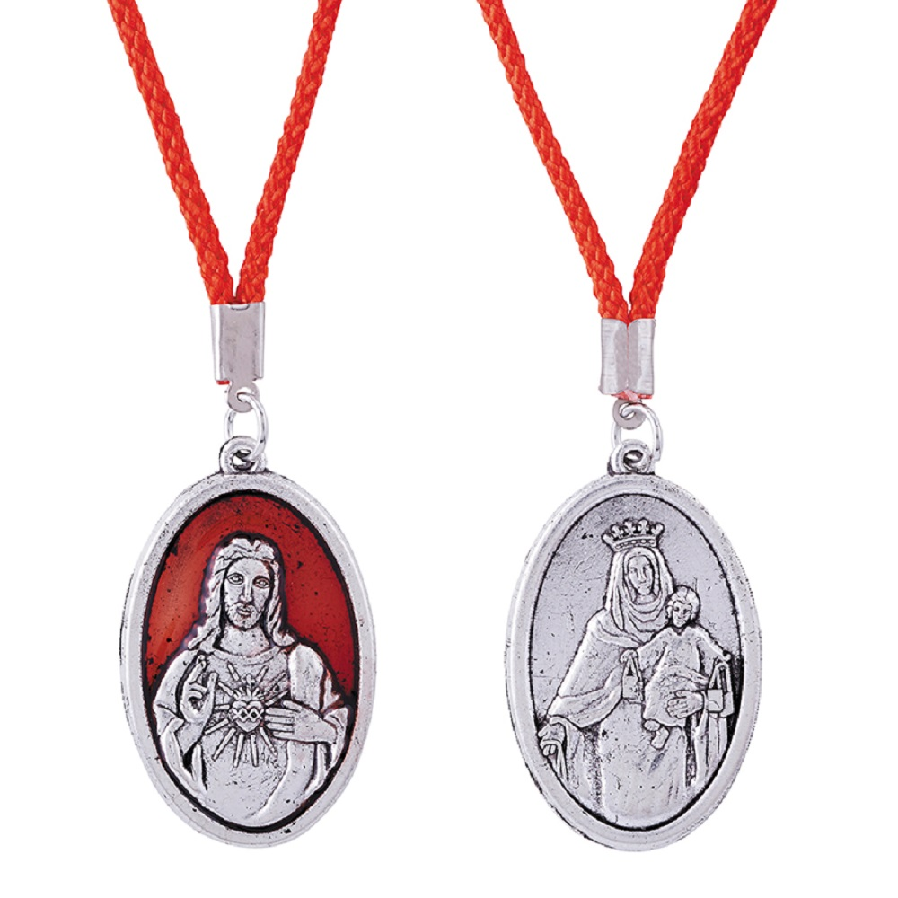 Scapular medal on cord