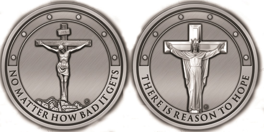 Duality Crucifix Coin