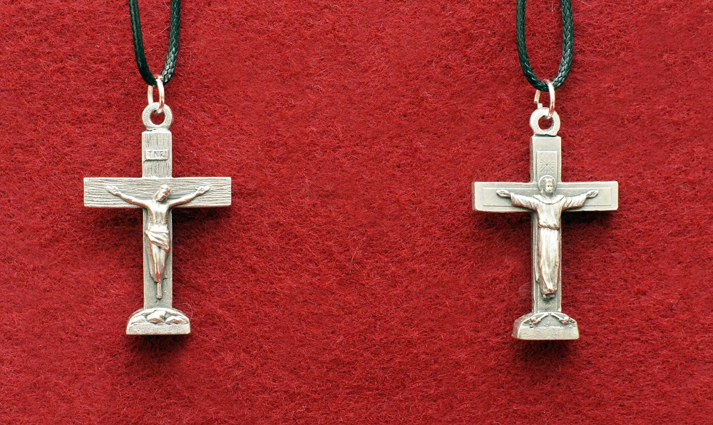 Duality Crucifix on cord