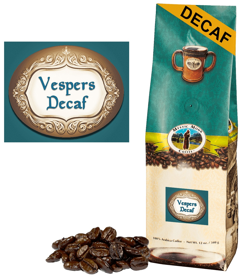 Decalf Vespers Whole Bean Coffee