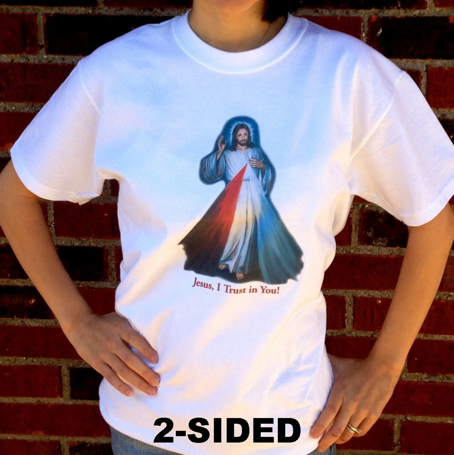 Divine Mercy Catholic T-shirt (Front)
