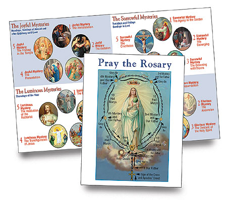 Pray the Rosary flyer