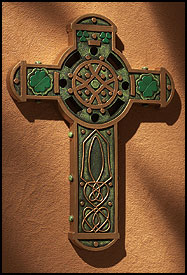 Celtic green cross