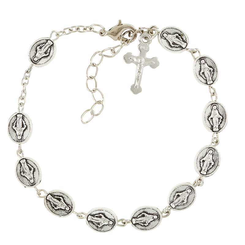 Lady of Grace medals bracelet