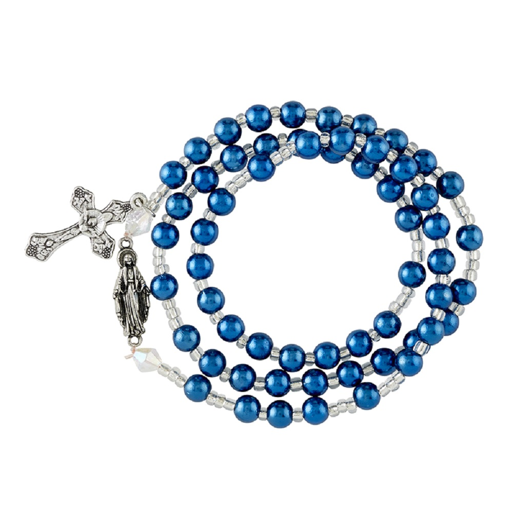 Our Lady of Grace Rosary Bracelet