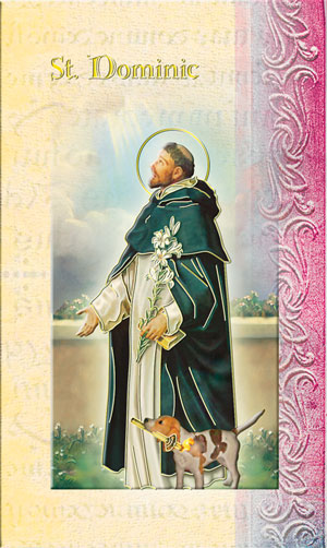 St. Dominic Lives of the Saints bi folder