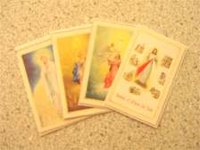FREE set of paper holy cards