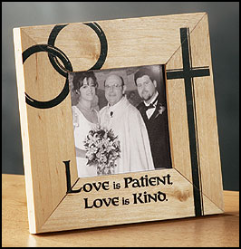 Wedding Wood Picture Frame