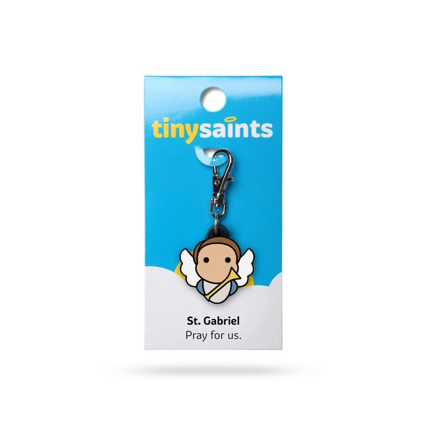 St. Gabriel Tiny Saints Charm