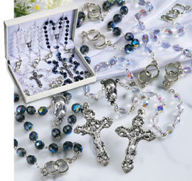 Wedding Double Rosary Set