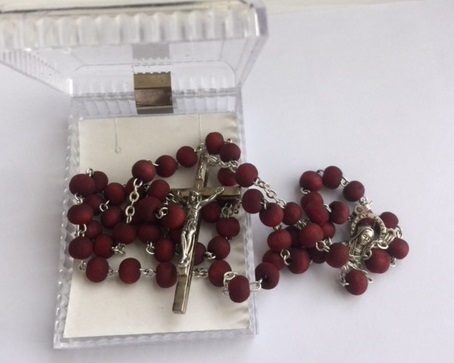 Crushed Rose Petals, Rosary from Holy Land