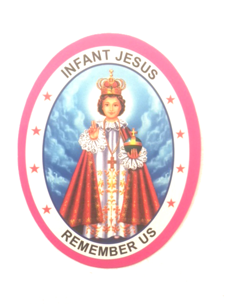 Infant of Prague Sticker
