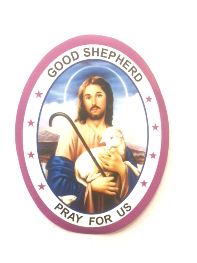 Jesus Good Shepherd Sticker