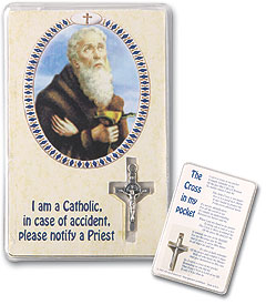 St. Benedict Cross in My Pocket