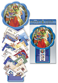 Nativity Advent Calendar Card Holder