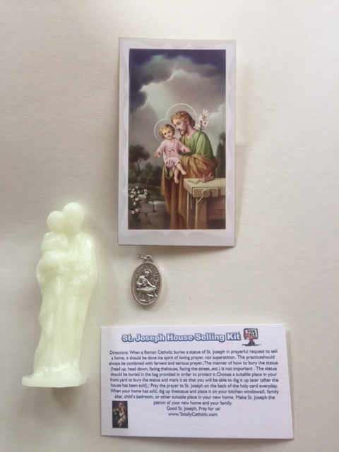 St. Joseph Luminous Statue House Selling kit