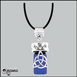 Celtic Knot Holy Water Bottle Pendant