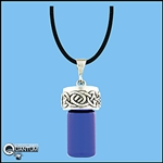 Celtic Knot Holy water bottle necklace