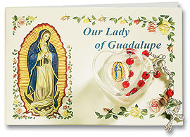 Guadalupe Rosary with Card