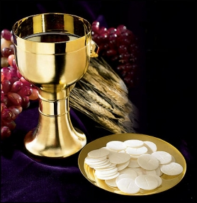 Priest Chalice With Paten
