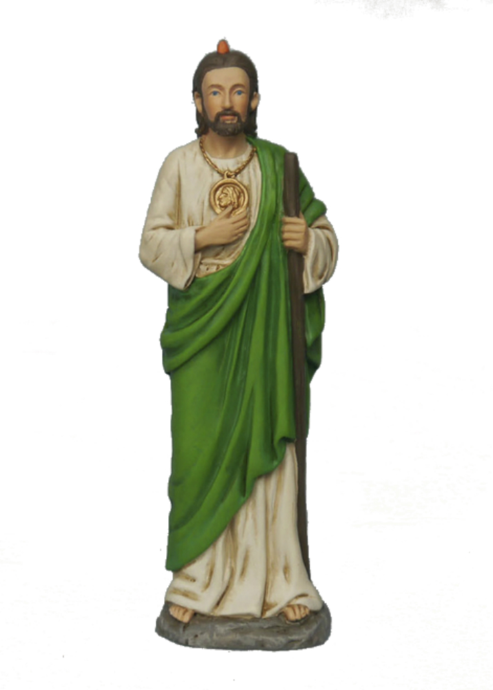 St. Jude 4 Inch color statue in Box