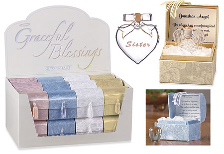 Faithful Blessings Glass Keepsakes