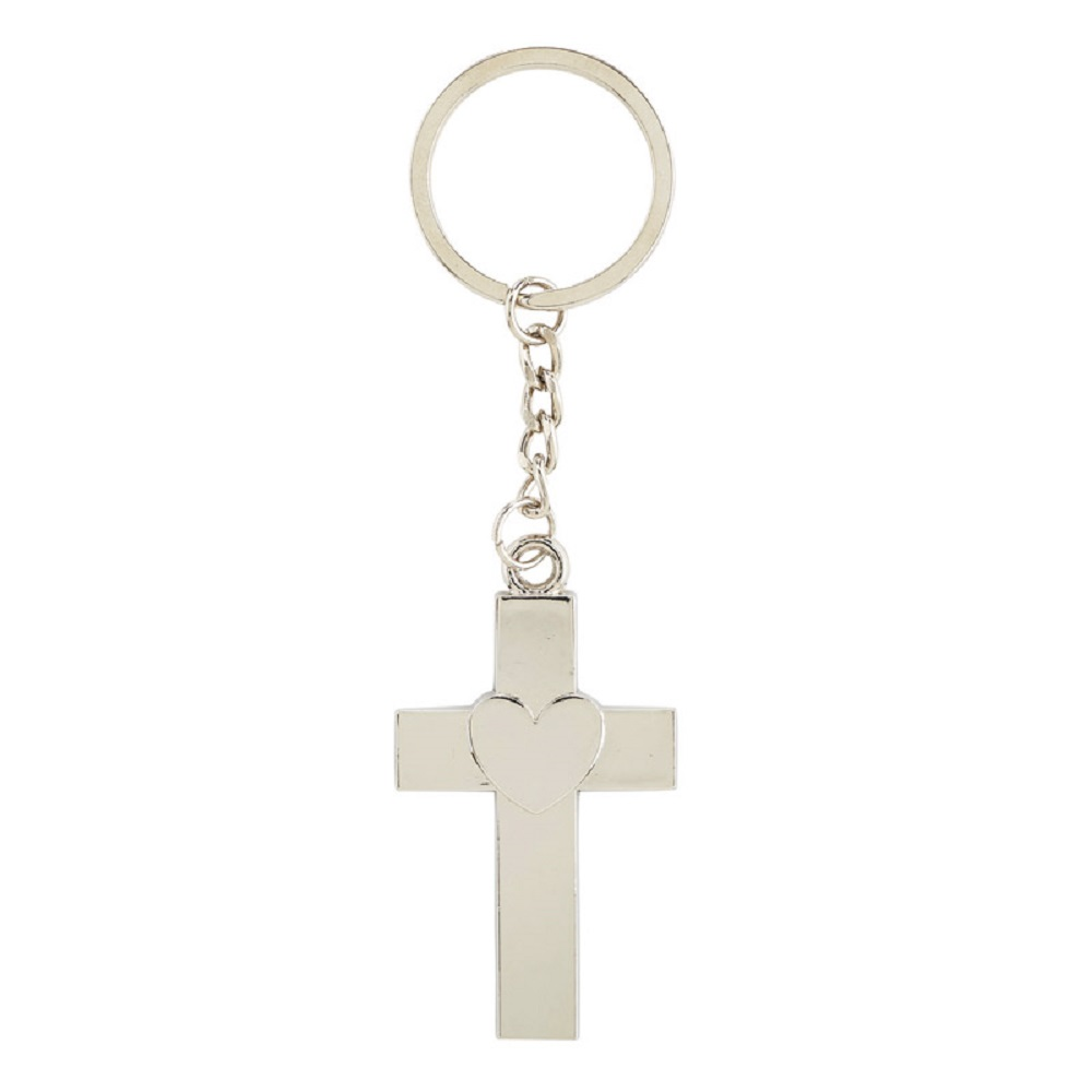 Serve with a Heart Like Jesus Key Chain with Card