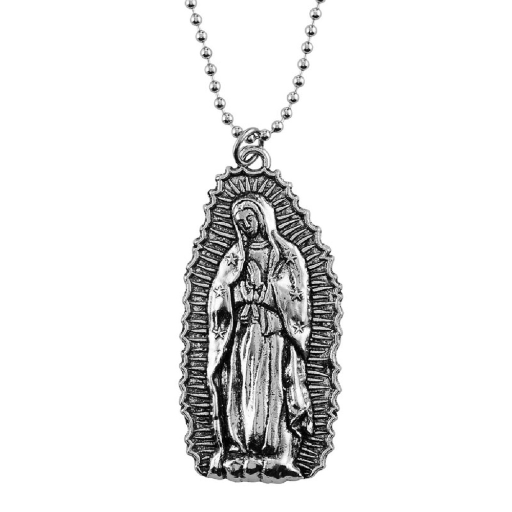Our Lady of Guadalupe Rear View Mirror Ornament