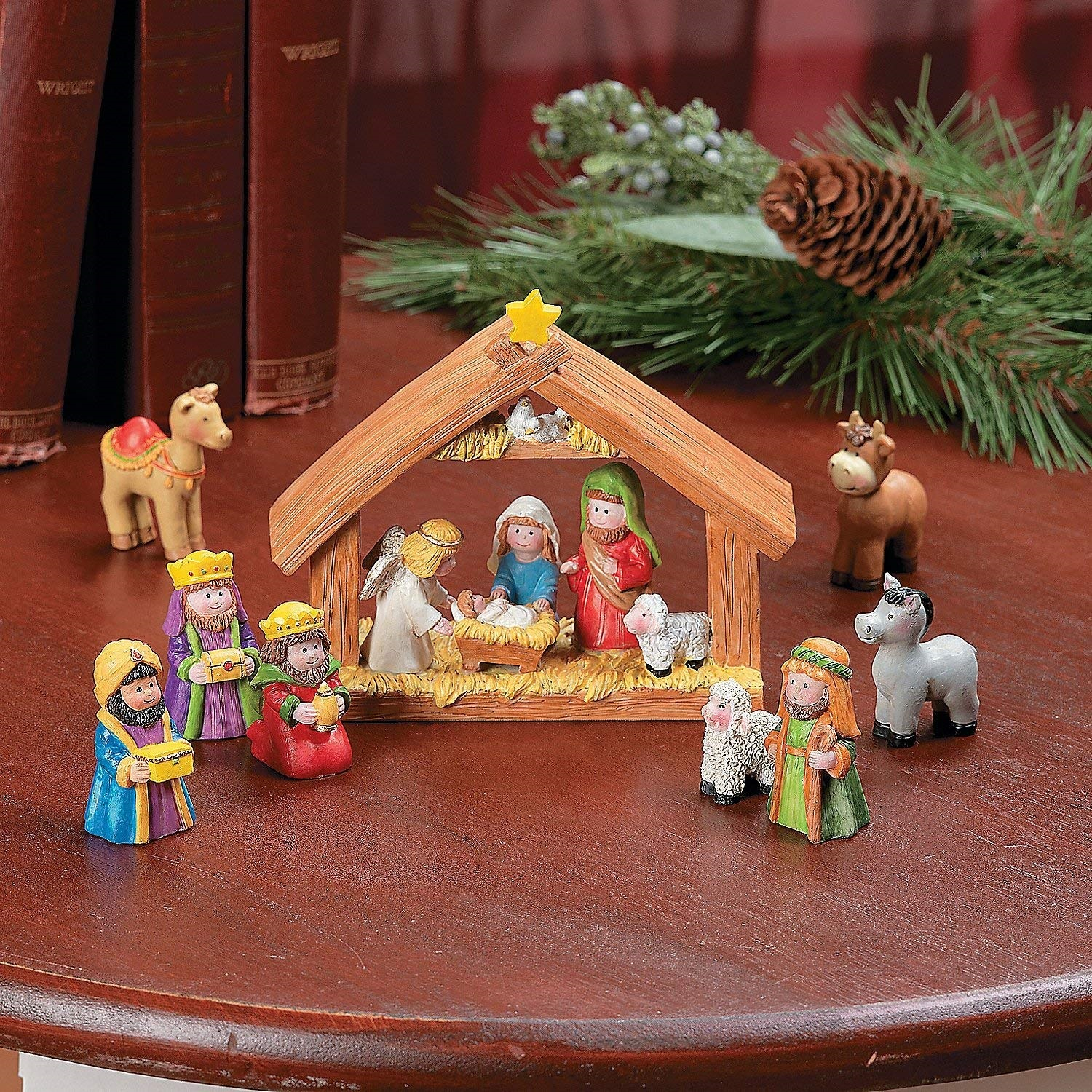 Childrens Nativity Set